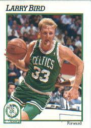 1991-92 Hoops #9 Larry Bird
