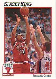 1991-92 Hoops #31 Stacey King