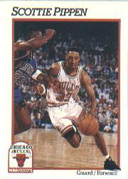 1991-92 Hoops #34 Scottie Pippen