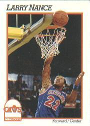 1991-92 Hoops #39 Larry Nance