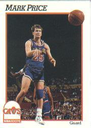 1991-92 Hoops #40 Mark Price