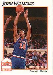 1991-92 Hoops #42 Hot Rod Williams
