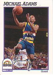 1991-92 Hoops #51 Michael Adams