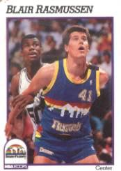 1991-92 Hoops #55 Blair Rasmussen