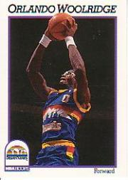 1991-92 Hoops #58 Orlando Woolridge