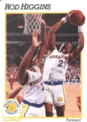 1991-92 Hoops #68 Rod Higgins