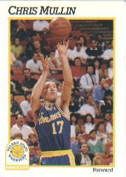1991-92 Hoops #72 Chris Mullin
