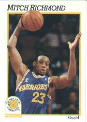 1991-92 Hoops #73 Mitch Richmond