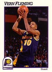 1991-92 Hoops #83 Vern Fleming