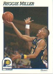 1991-92 Hoops #84 Reggie Miller