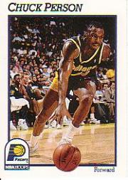1991-92 Hoops #85 Chuck Person