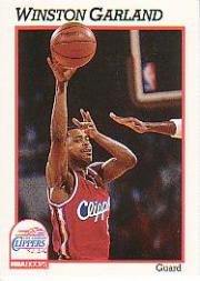 1991-92 Hoops #91 Winston Garland