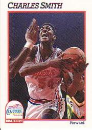 1991-92 Hoops #98 Charles Smith
