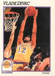 1991-92 Hoops #99 Vlade Divac