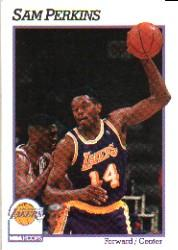 1991-92 Hoops #102 Sam Perkins