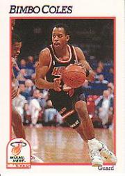 1991-92 Hoops #108 Bimbo Coles FHC