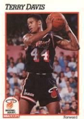 1991-92 Hoops #109 Terry Davis