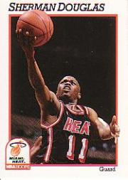 1991-92 Hoops #110 Sherman Douglas