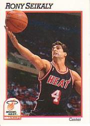 1991-92 Hoops #114 Rony Seikaly