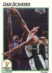 1991-92 Hoops #121 Danny Schayes