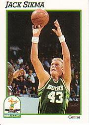 1991-92 Hoops #122 Jack Sikma