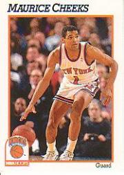 1991-92 Hoops #139 Maurice Cheeks