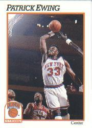 1991-92 Hoops #140 Patrick Ewing