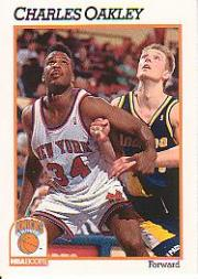 1991-92 Hoops #142 Charles Oakley