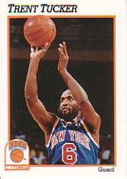 1991-92 Hoops #143 Trent Tucker
