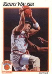 1991-92 Hoops #145 Kenny Walker