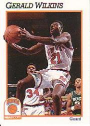 1991-92 Hoops #146 Gerald Wilkins