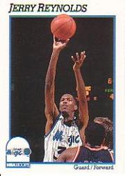 1991-92 Hoops #150 Jerry Reynolds
