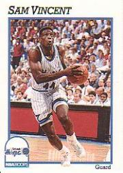 1991-92 Hoops #154 Sam Vincent