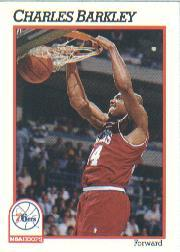1991-92 Hoops #156 Charles Barkley