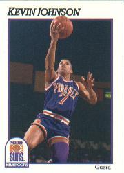 1991-92 Hoops #165 Kevin Johnson