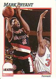 1991-92 Hoops #172 Mark Bryant