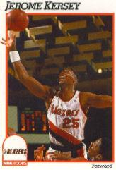 1991-92 Hoops #176 Jerome Kersey