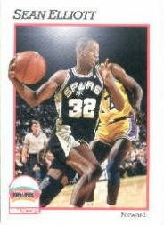 1991-92 Hoops #190 Sean Elliott