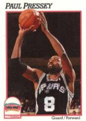 1991-92 Hoops #193 Paul Pressey