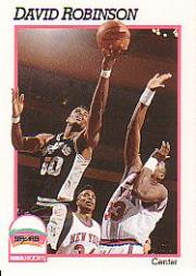 1991-92 Hoops #194 David Robinson