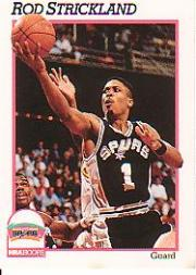 1991-92 Hoops #196 Rod Strickland