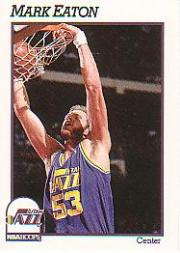 1991-92 Hoops #207 Mark Eaton