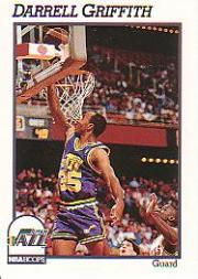 1991-92 Hoops #209 Darrell Griffith