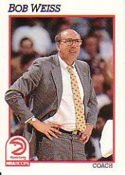 1991-92 Hoops #221 Bob Weiss CO front image