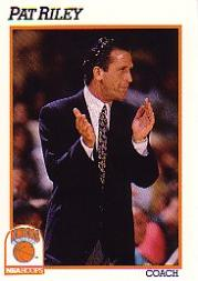 1991-92 Hoops #238 Pat Riley CO