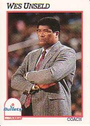 1991-92 Hoops #247 Wes Unseld CO