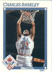 1991-92 Hoops #248 Charles Barkley AS