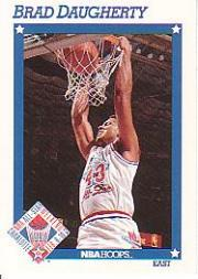1991-92 Hoops #249 Brad Daugherty AS
