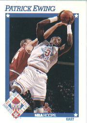 1991-92 Hoops #251 Patrick Ewing AS