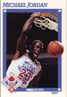 1991-92 Hoops #253 Michael Jordan AS